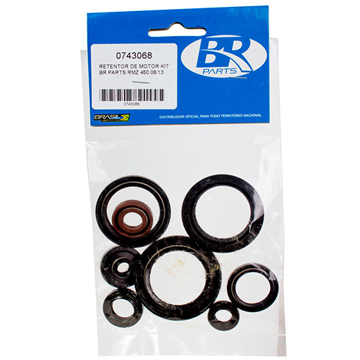 Kit Retentor de Motor BR Parts RMZ 450 08/10