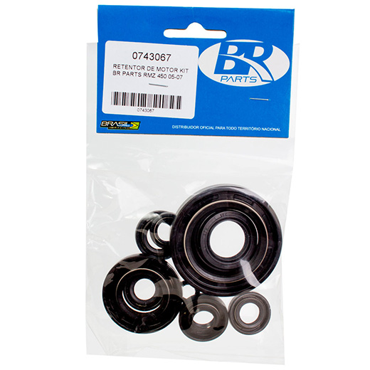 Kit Retentor de Motor BR Parts RMZ 450 05/07