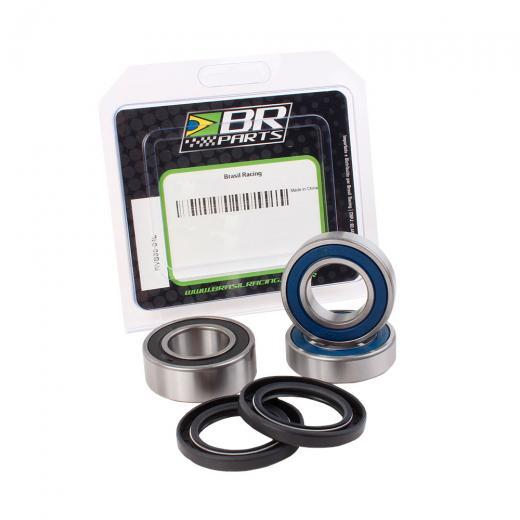 Kit Rolamento da Roda Dianteira BR Parts Husq. CR 125/250 + WR 125/250 + WR/TE 300/450/510