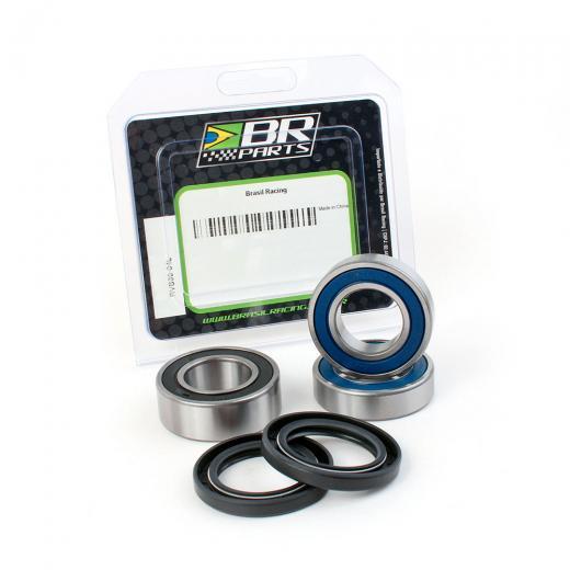 Kit Rolamento da Roda Traseira BR Parts CRF 230 03/17 + CRF 150F 03/17