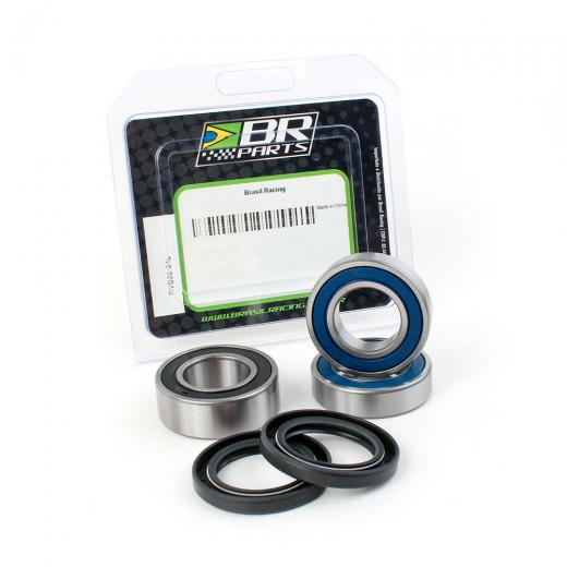 Kit Rolamento da Roda Traseira BR Parts YZF 250/450 + YZ 125/250 + WRF 250/450