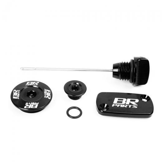 Kit Tampa de �leo / Motor / Reservat�rio com Vareta BR Parts CRF 230