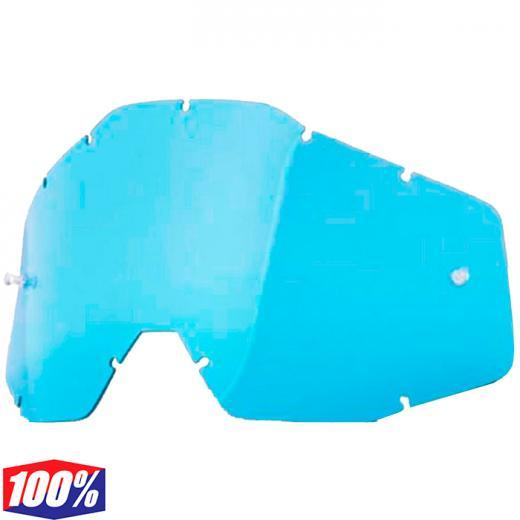 Lente 100% Azul Transparente