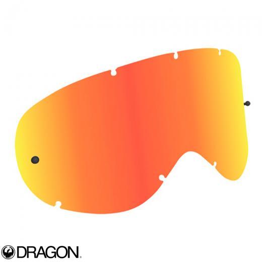 Lente Dragon MDX Vermelha Espelhada