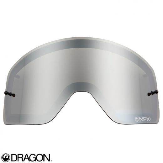 Lente �culos Dragon NFXs Cinza Espelhado