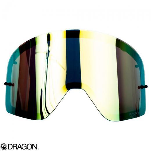 Lente �culos Dragon NFXs Dourada Espelhada