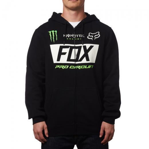 Moletom Fox Monster Paddock Zip