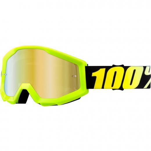 �culos 100% Strata Neon Yellow Espelhado