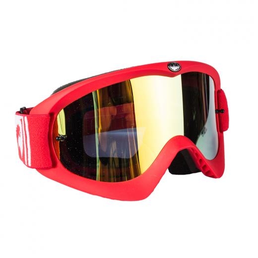 �culos Dragon MDX Red-L Lente Espelhada