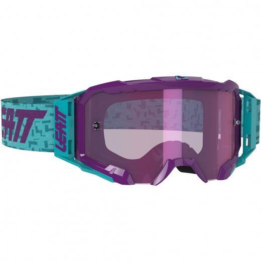 �culos Leatt Velocity 5.5 Purple/Blue Iriz