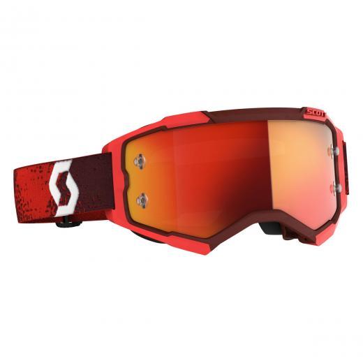 �culos Scott Fury Red/Orange Chrome Works