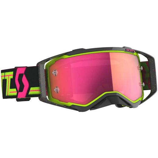 �culos Scott Prospect Black-Yellow/Pink Chrome Works