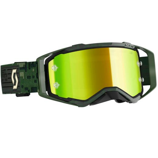 �culos Scott Prospect Kaki Green/Yellow Chrome Works