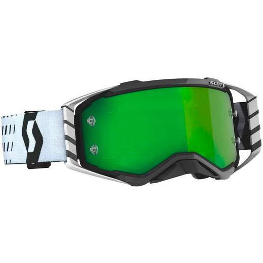 �culos Scott Prospect White-Black/Green Chrome Works
