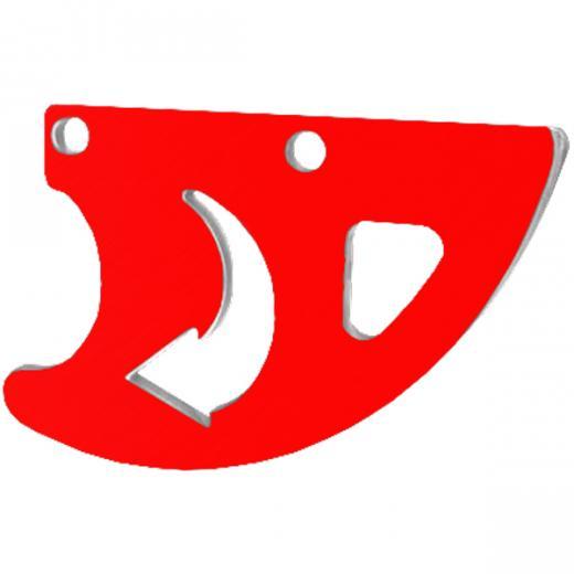 Protetor de Disco Traseiro Start Racing CRF 250R/450R 05/18 CRF 250X/450X 05/18 Anodizado