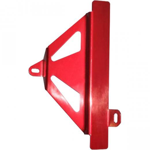 Protetor de Radiador Lateral Start Racing CRF 450 09/12 Anodizado