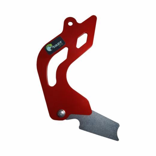 Protetor de Pinh�o + Eixo de C�mbio Start Racing CRF 250F 18/20 - Vermelho