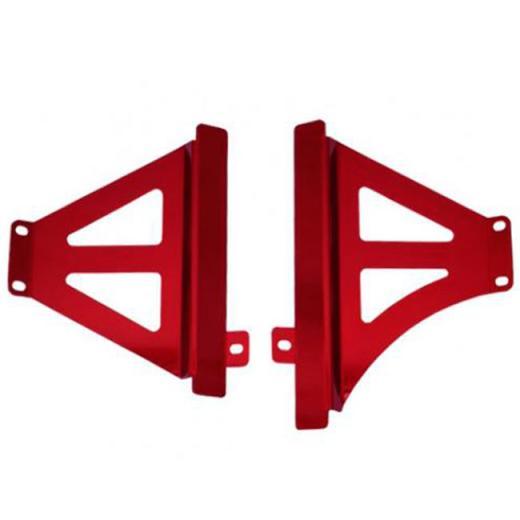 Protetor de Radiador Lateral Start Racing CRF250R - 16/17 / CRF450R- 15/16 - Aluminio