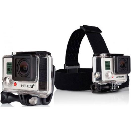 Suporte para cabe�a + Quick clip GoPro