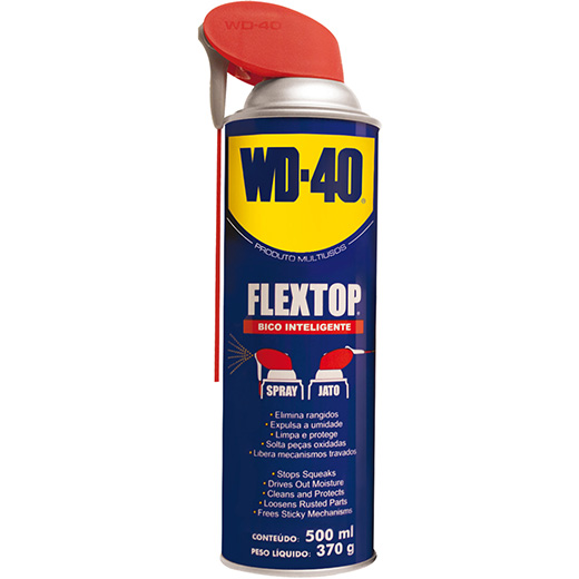 WD-40 Multiusos Flextop c/ Bico inteligente - 500ml